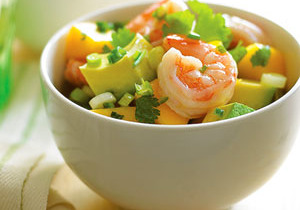 Zesty Mango Shrimp Salad